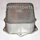 Радиатор масляный Г-3302 Бизнес дв. Cummins ISF 2.8 теплообменник, охладитель Евро 4